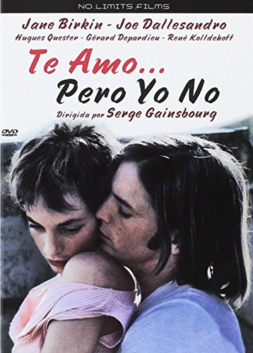 Te Amo Pero Yo No Dvd Amazon Es Jane Birkin Joe Dallesandro Hugues Quester Serge Gainsbourg Jane Birkin Joe Dallesandro Jacques Eric Strauss Cine Y Series Tv