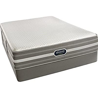 Simmons Beauty Rest Recharge Hybrid Plush Mattress, Air Cool Gel, Pocket Coil, King