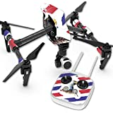 Skin For DJI Inspire 1 Quadcopter Drone – Eagle Head | MightySkins Protective, Durable, and Unique Vinyl Decal wrap cover | Easy To Apply, Remove, and Change Styles | Made in the USA