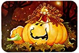 Caroline's Treasures PJC1070LCB Somebody To Love Pumpkin Halloween Glass Cutting Board, Large, Multicolor