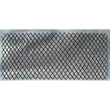 """Willow Expandable Lattice Fence Panel, 72""""W X 36""""H Set of 2"""