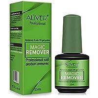 Gel Nail Polish Remover, Magic Nail Polish Remover, Easily & Quickly Removes Soak-Off Gel Polish, Don't Hurt Nails…