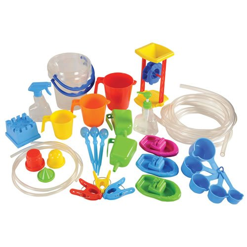 edx education Classroom Water Play Set (35 Pieces)