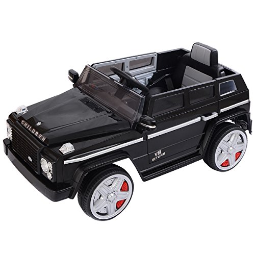Price comparison product image Quality Toys - Kids Rides Car - 12V Electric Powered Riding Toy with Remote Control - Battery Operated RC Car - Remote Controlled Toddler Quad 4 Wheels Cars - MP3 LED Lights