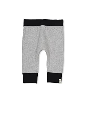 Cotton On Baby Mini Legging Lt Grey Marle/Xo Size 3-6M