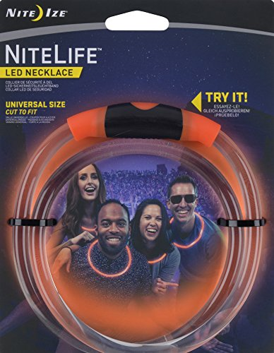 Nite Ize NiteLife Necklace Technology Orange