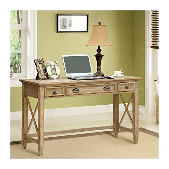 Riverside Furniture Coventry Writing Desk in Weathered Driftwood -  - writing-desks, living-room-furniture, living-room - 51Ec7oo7R0L. SS570  -
