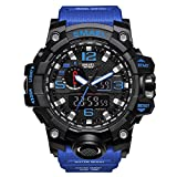 Yiding Mens Sports Digital Watch Multifunctional Watch Christmas Gift