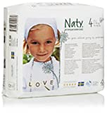 Nature Babycare Eco-Diapers, Size-4, 27 Count (Pack of 4)