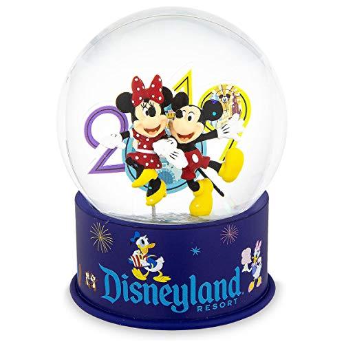 Theme Parks Disneyland Resort 2019 Mickey and Minnie Mouse Mini Snowglobe ()