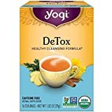 Yogi Tea, DeTox, 16 Count (Pack of 6), Packaging May Vary