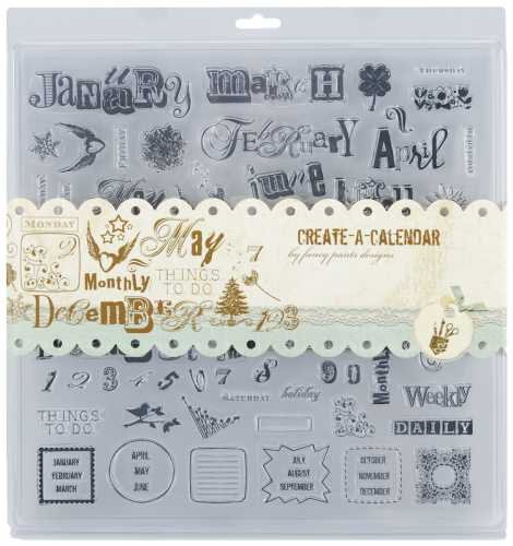 Fancy Pants Clear Stamps - Create a Calendar