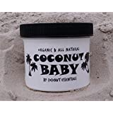 Coconut Baby 4 oz - Organic Baby Oil - Best All Natural treatment for Cradle Cap, Eczema, Stretch Marks, Psoriasis, and Diaper Rash
