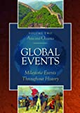Global Events: Milestone Events Throughout History: 6 Volume Set