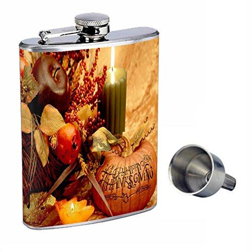 史上一番安い 感謝祭Perfection Funnel inスタイル8オンスステンレススチールWhiskey Flask with with Free Funnel d-001 Flask B0181MM0K6, 銚子市:57370452 --- domaska.lt