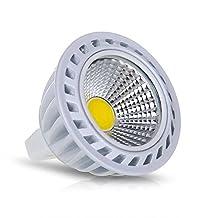 LED Lamp - SODIAL(R)GU5.3/ MR16 4W COB LED Lamp Spotlight Bulbs Light 280LM 3000K Warm White DC 12V