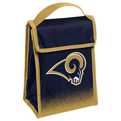 Bag Ram (Los Angeles Rams Gradient Velcro Lunch Bag)