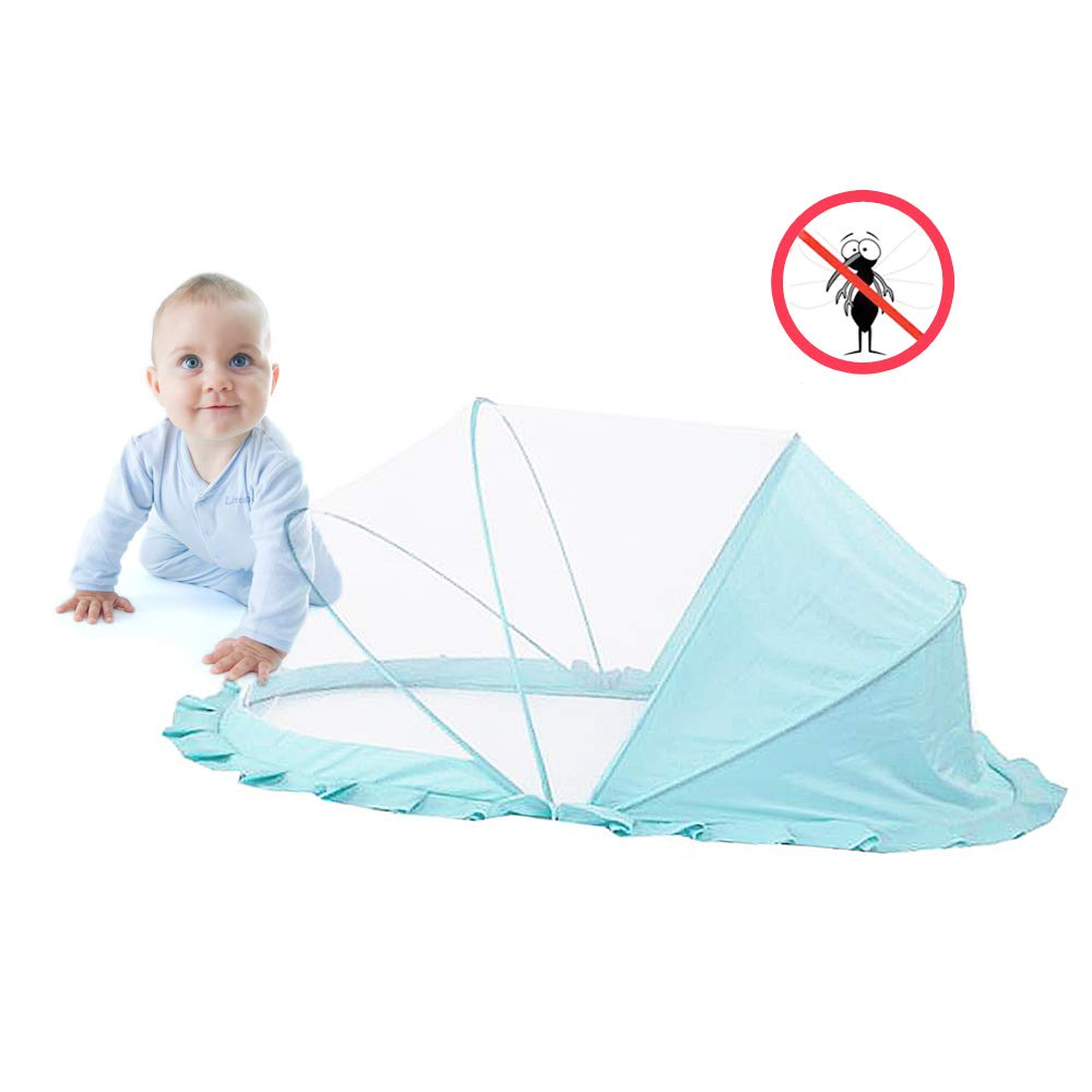 Portable Folding Baby Mosquito Net,Mosquito Net Tent for Baby Bed/Sofa/Floor,Suitable for Babies Under 5 Years Old