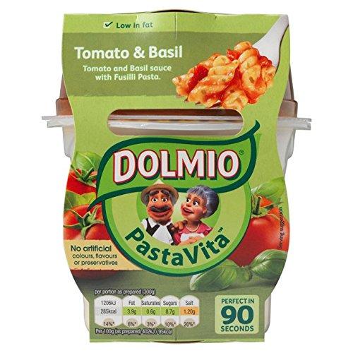 Dolmio Pasta Vita Tomate & Basil - Comida para microondas ...