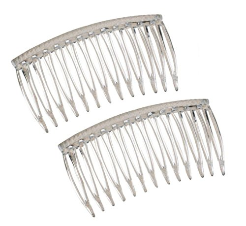 Good Hair Days The Original Grip Tuth Hair Combs Set Of 2 Clear 2 34 Wide