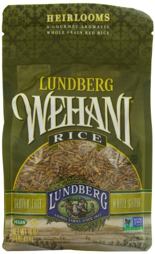 Lundberg Family Farms Wehani Rice, 16 Ounce (Pack of -