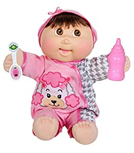 Amazon Com Cabbage Patch Kids 14 Quot Baby So Real Brunette