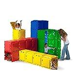 Brik-A-Blok 60 Panel Tunnel Set, Children Play Tunnel