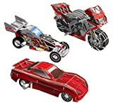Smithsonian Mini 4'' Sport Vehicle Assortment 3D Build & Play Motorized Puzzle Pack