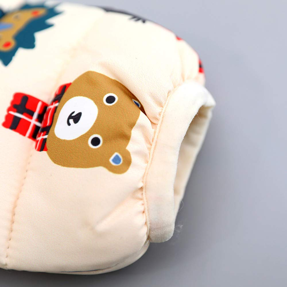 Lifestyler Fashion Girl Bear Cartoon Hooded Coat Winter Jacket Thick Warm Casual Clothes