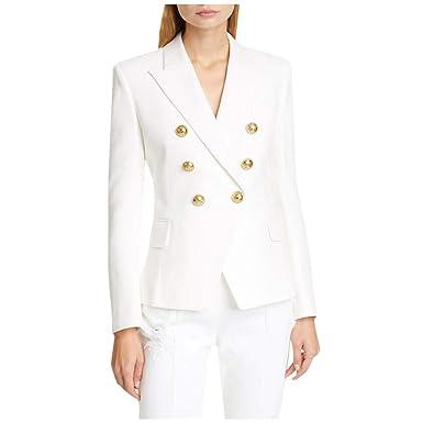 SUDADY - Chaqueta de Mujer, Blazer para Mujer, Estilo Vintage ...
