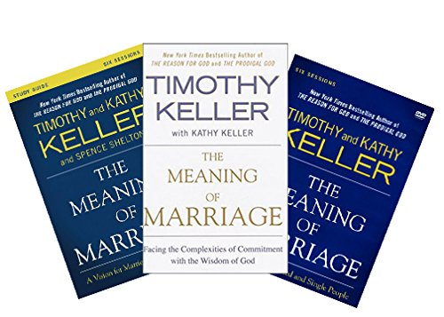 Timothy Keller - The Meaning of Marriage FULL SET (Book + DVD + Study Guide) -  Sunatoria