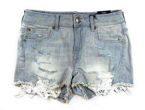 American Eagle Women's Hi-Rise Shortie Shorts W-23 (10, 4698)