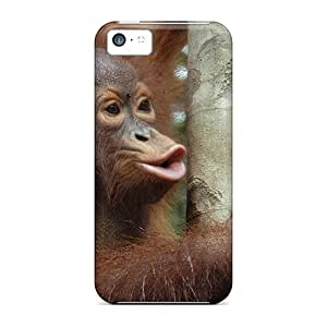 Awesome Case Cover/iphone 5c Defender Case Cover(monkey 01)