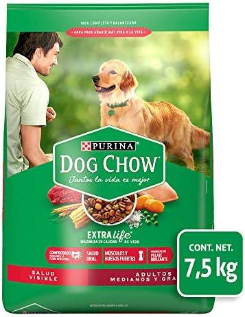 Dog Chow comida para Perros Adultos Medianos y Grandes con Extralife 7.5kg 2