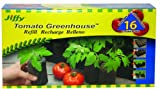 Jiffy 60mm Tomato Greenhouse 16-Plant Starter Refill