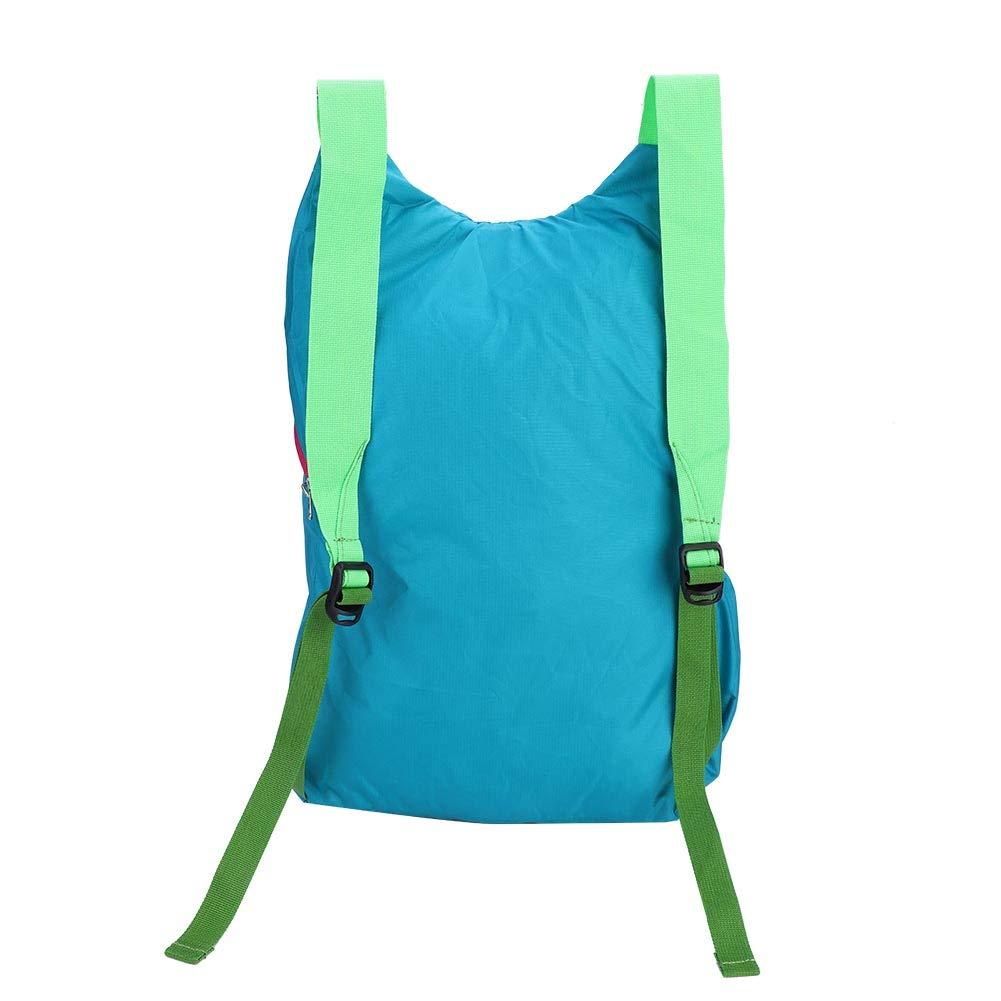 Alomejor nylon pieghevole zaino ultraleggero spalle all aperto zaino da viaggio impermeabile ripiegabile borsa