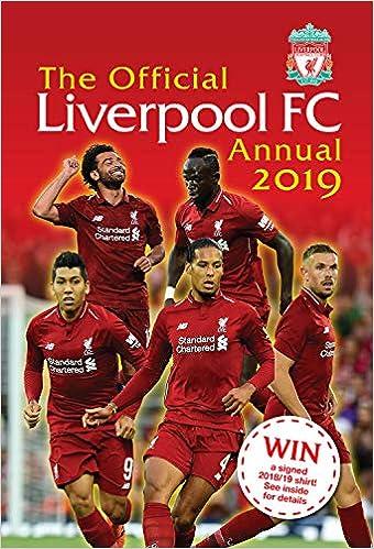 54a150c725b The Official Liverpool FC Annual 2019  Amazon.co.uk  Mark Platt ...