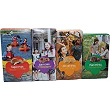Girl Scout Cookies Thin Mints, Samoas, Tagalongs & Do-si-dos (Variety Pack of 4)