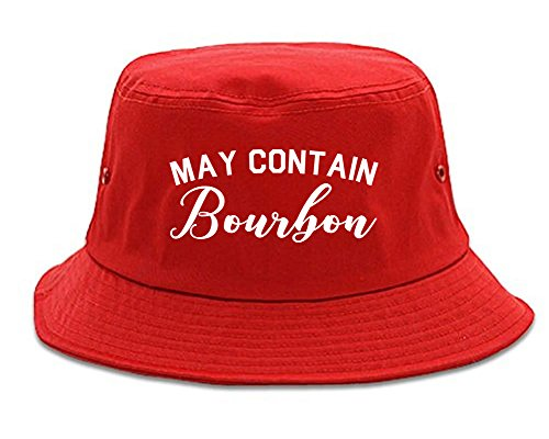 Fashionisgreat May Contain Bourbon Funny Liquor Bucket Hat