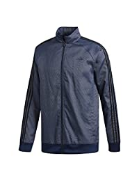 adidas Men's Essentials 3-Stripes Woven Track Top