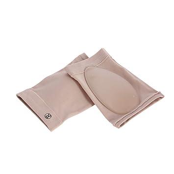 LEORX Silicona vendaje elástico arco pie plano ortesis masaje cojín plantillas-1 par