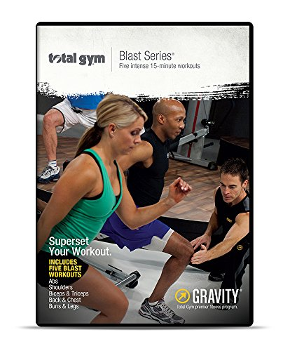 Total Gym Blast DVD Volume 1 & 2 by Total Gym Fitness, LLC