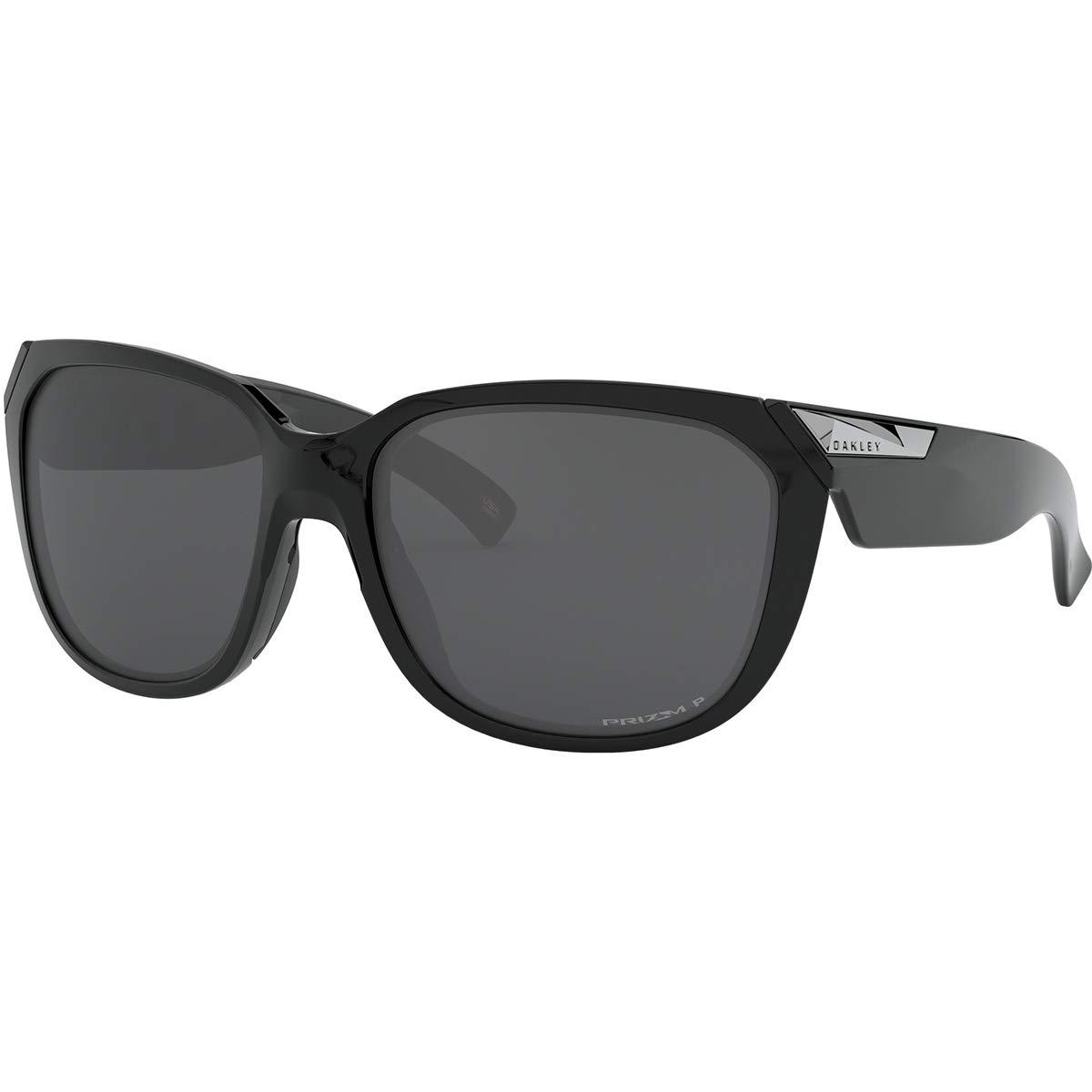Oakley Rev Up Sunglasses,OS,Polished Black/Prizm Black Polarized by Oakley