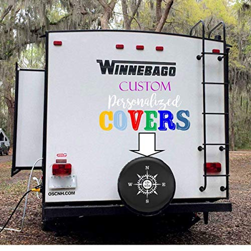 Awesome Cover - Custom RV Tire Cover- Create a Custom Spare Tire Cover- Personalized Tire Cover- makes an awesome present!