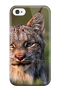 Emilia Moore's Shop Best 9920195K36463028 Cute High Quality Iphone 4/4s Lynx Case