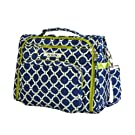 Ju-Ju-Be B.F.F. Convertible Diaper Bag, Royal Envy