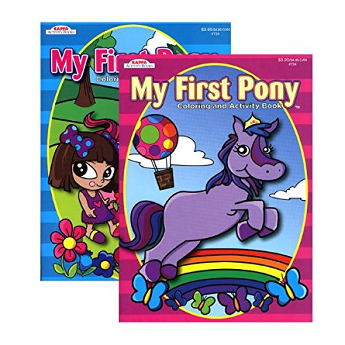 Kappa My First Pony Coloring & Activity Book from Kappa