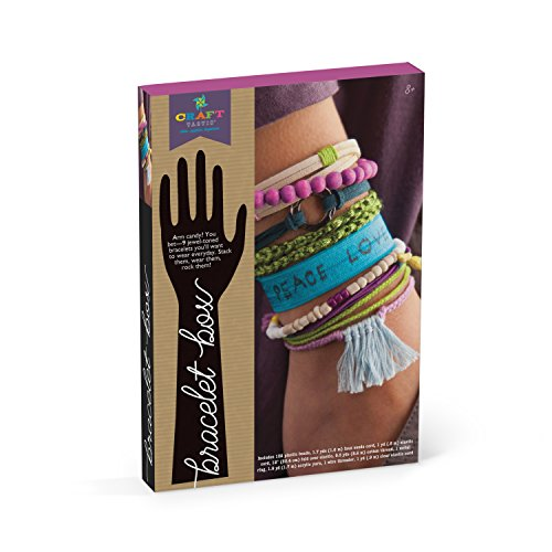 Craft-tastic Bracelet Box - Jewelry Making Craft Kit for Ages 8+