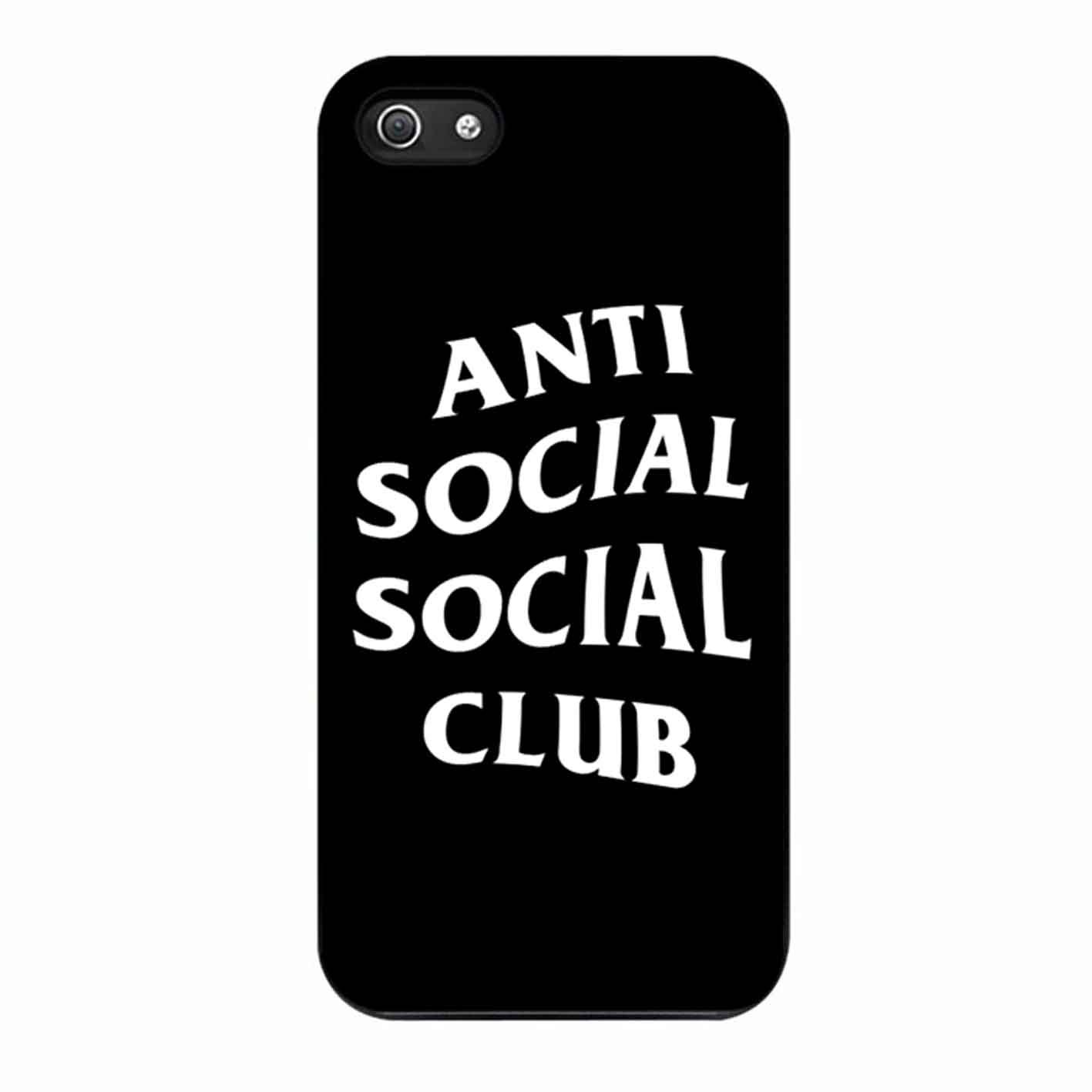 Anti Social Social Club Black Case iPhone 7