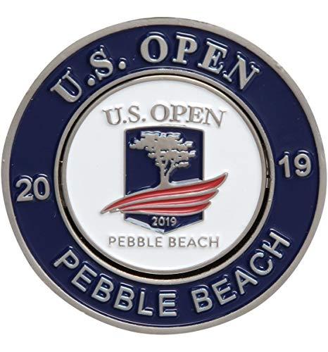 (2019 US Open Mondomark Golf Ball Marker, Pebble Beach USGA)